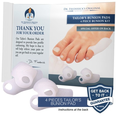 Dr. Fredrick's Tailor's Bunion Pads (4 Pack)