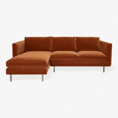 Highline Standard Sectional Cinnamon