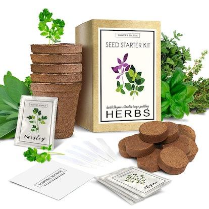 Sower's Sauce Indoor Herb Garden Kit