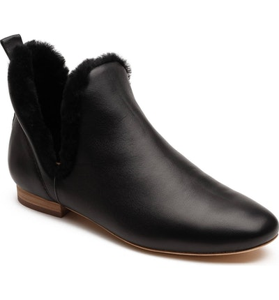Lake Genuine Shearling Bootie