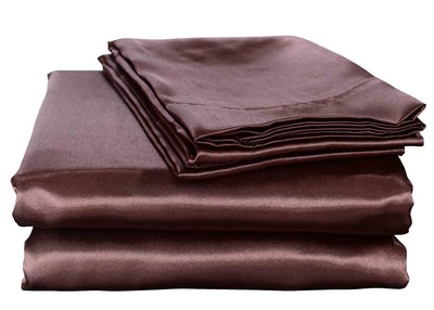 Honeymoon Home Fashions Ultra Luxury Satin Sheets