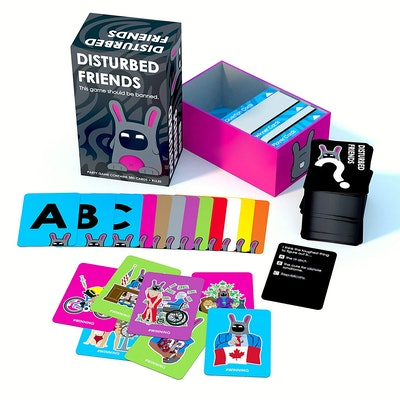 Disturbed Friends Party Game