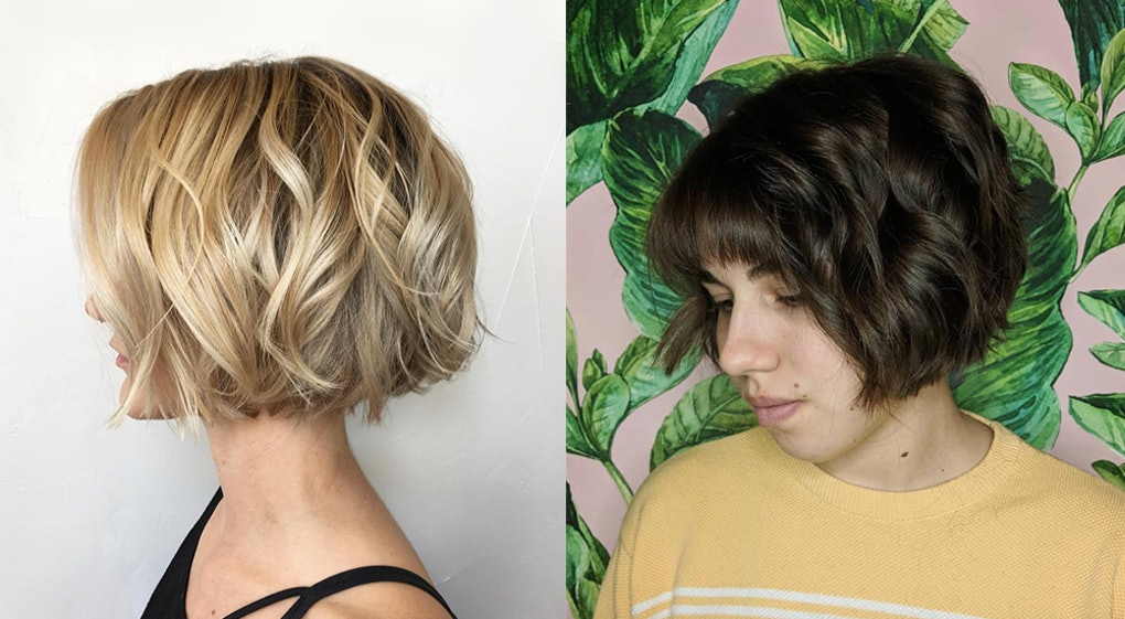 Short Hairstyles 2019 With Bangs: The Chin-Length Bob Haircut Trend Is Taking Over, So