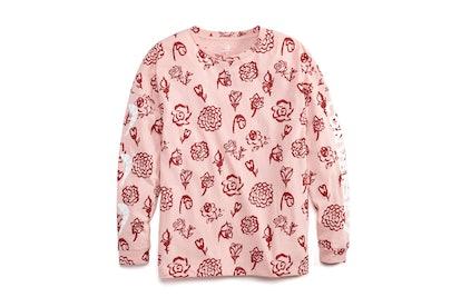 Converse x Shrimps Floral Long-Sleeve T-shirt