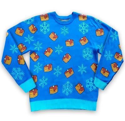 Pancakes Christmas Sweater