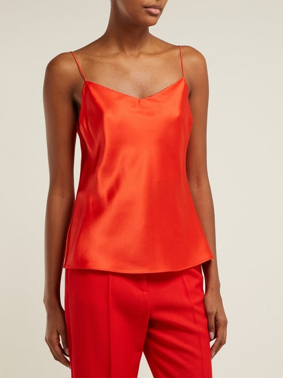 Sten Silk-Satin Cami Top