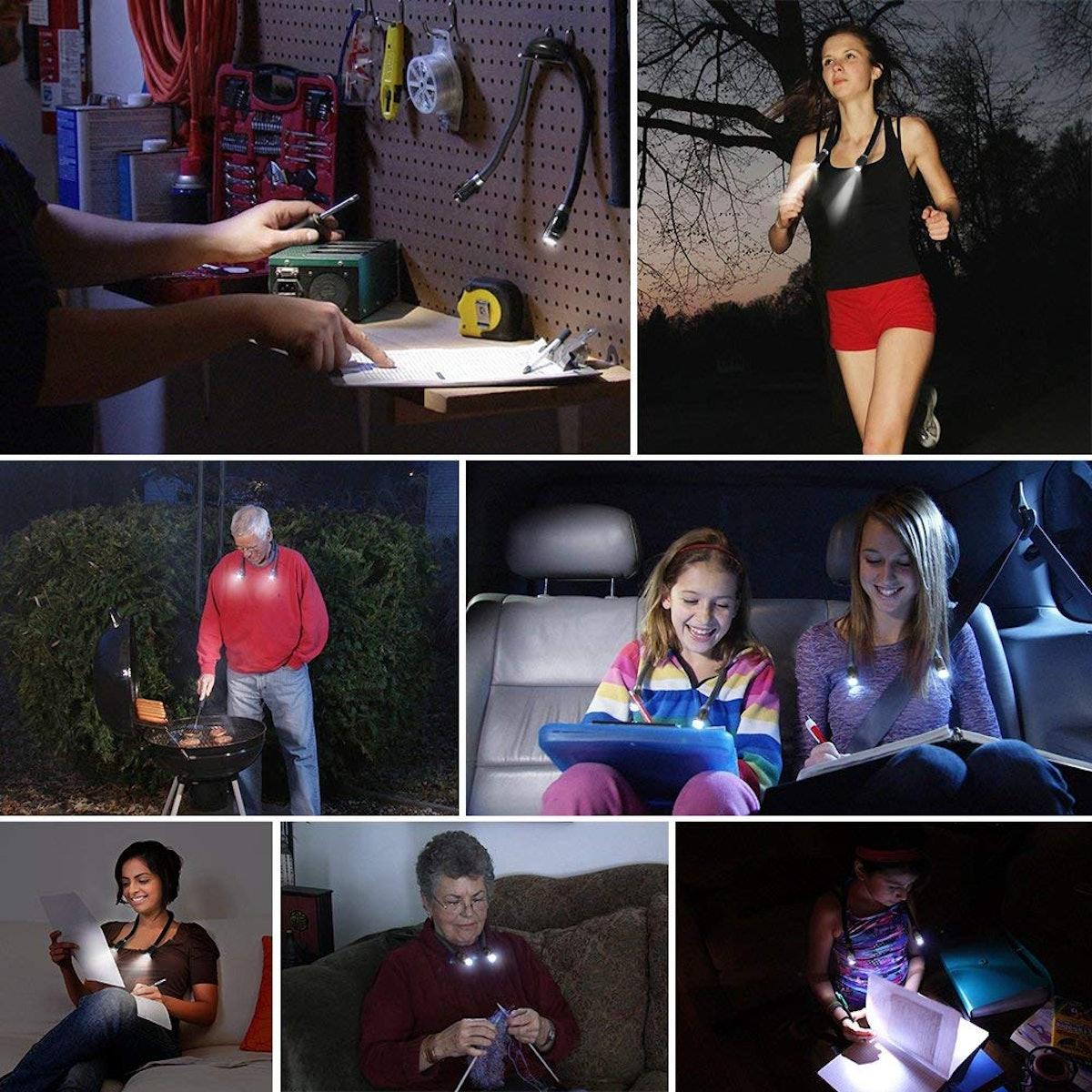 Ledgle Hands-Free LED Book Light