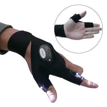 Mylivell LED Flashlight Gloves (1 Pair)