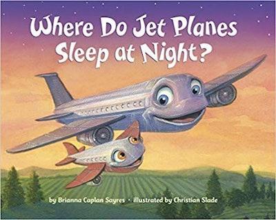 """Where Do Jet Planes Sleep At Night"" Board Book"
