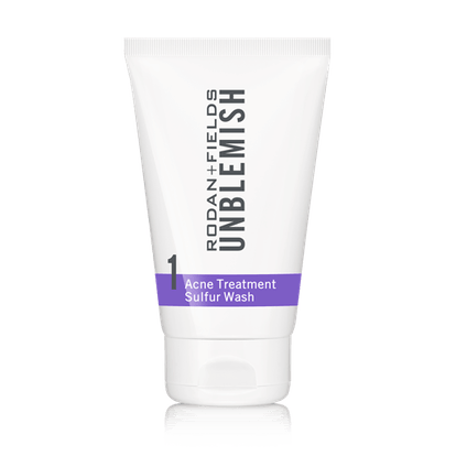 Unblemish Acne Treatment Sulfur Wash