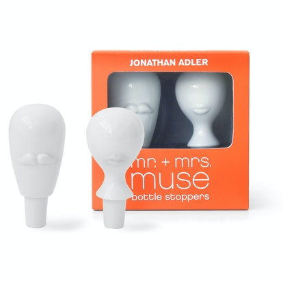 Mr. And Mrs. Muse Bottle Stopper Set