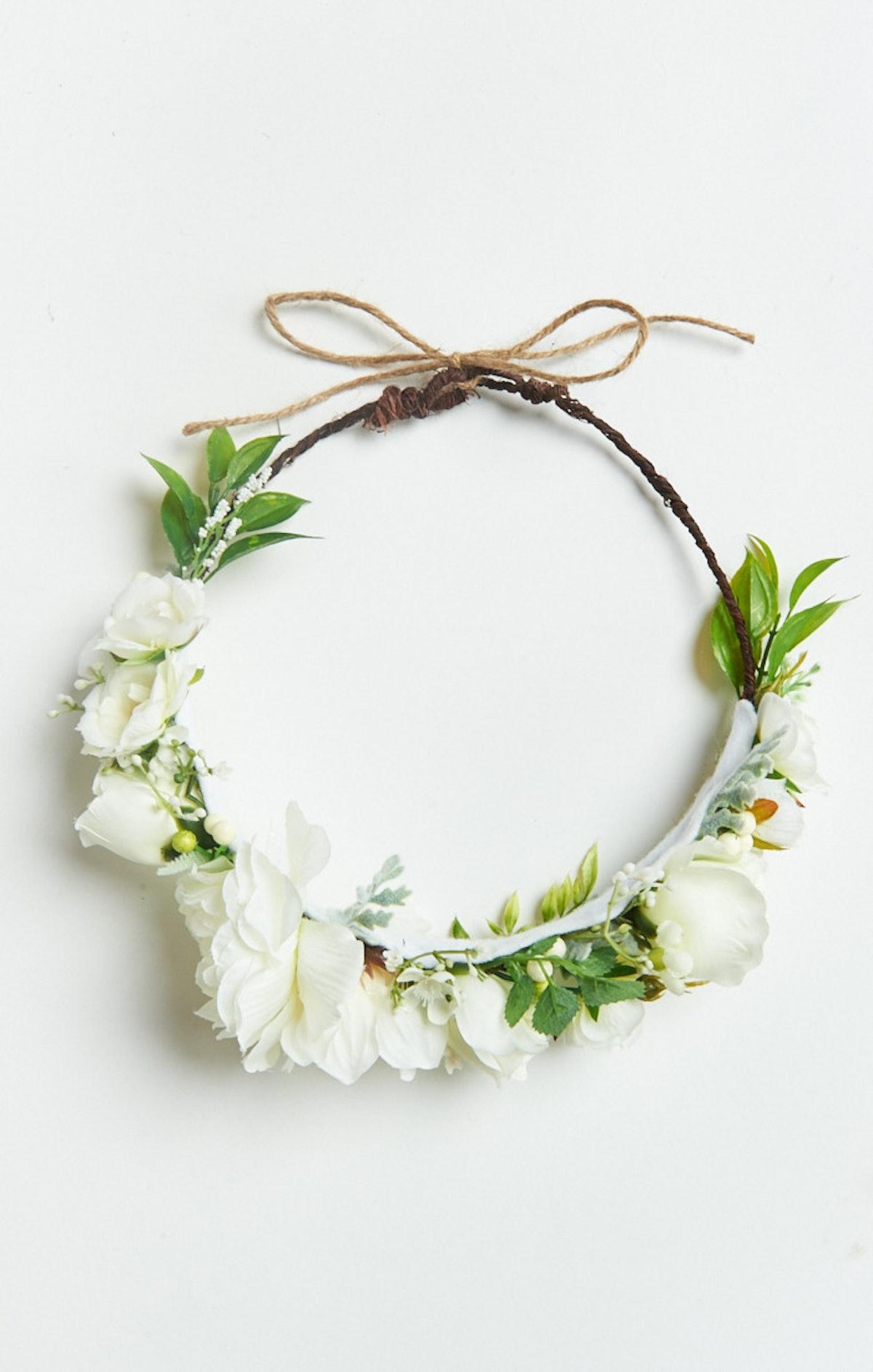Wisteria Flower Crown
