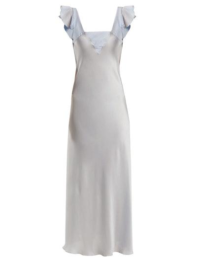 Celia silk maxi nightdress