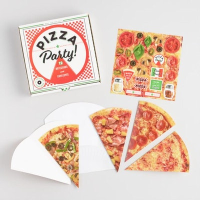 Pizza Party Notecards Set of 12