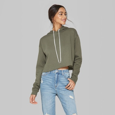 Wild Fable Cropped Hooodie