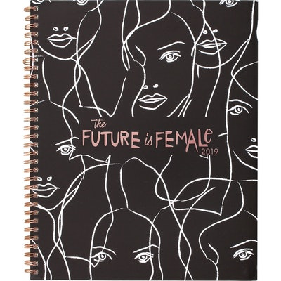 "2019 Planner 9.25""x 11"" Future is Female - Cambridge"