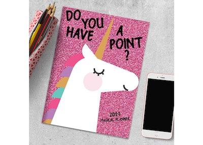 2019 Planner Unicorns- TF Publishing
