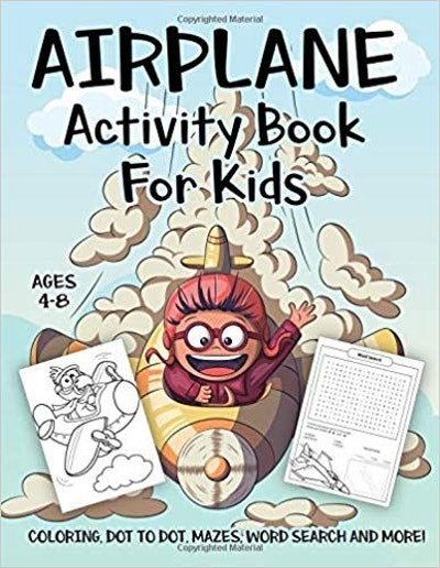 Airplane Activity Book for Kids
