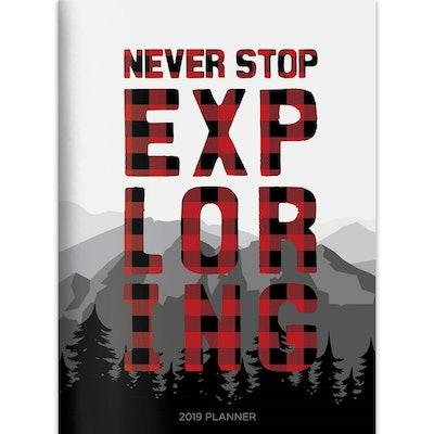 2019 Planner Plaid Explore - TF Publishing