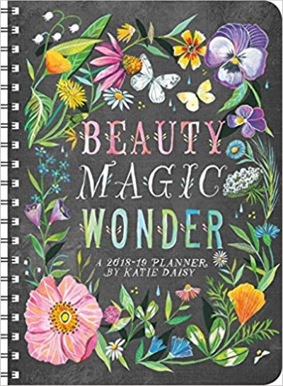 Katie Daisy 2019 On-the-Go Weekly Planner