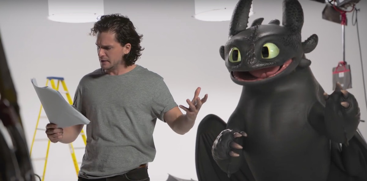 The 'Game Of Thrones' References In Kit Harington's 'How To Train Your Dragon' Audition Video Deserve The Iron Throne
