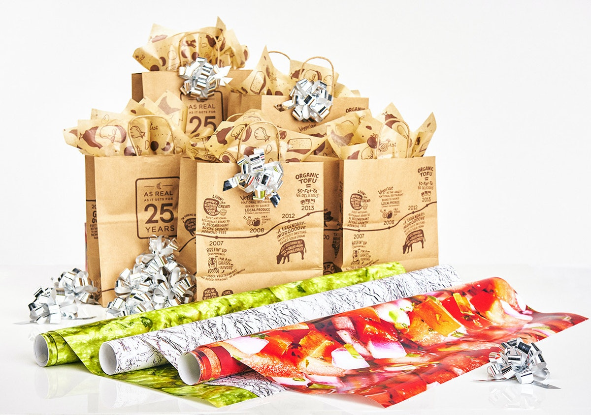 Chipotle's Wrapping Paper Lets You Wrap Gifts Like Your Beloved Burritos