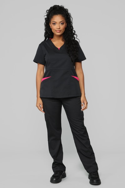 Vital Signs Fitted Scrub Set