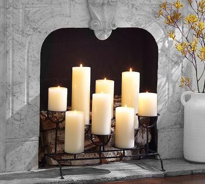 Fireplace Candleholder