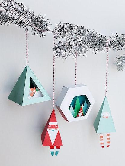 3D Christmas Ornaments
