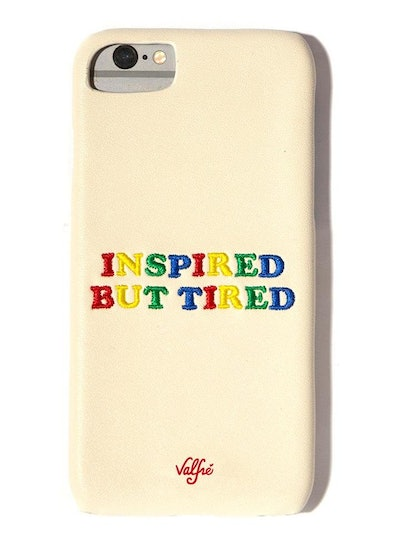 """Inspired But Tired"" iPhone Case"