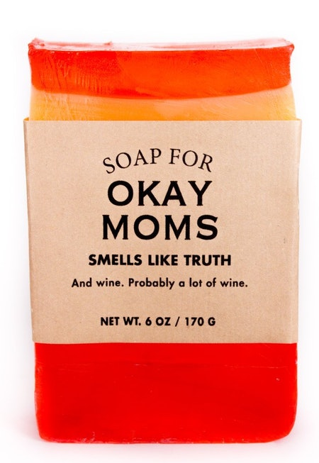 "Sippy Cup Wine Scented ""Soap For Okay Moms"""