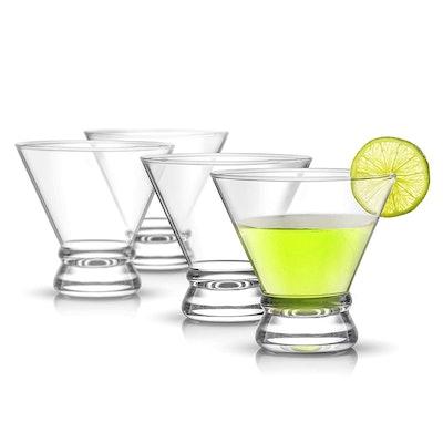 JoyJolt Afina Cocktail Glasses (Set of 4)