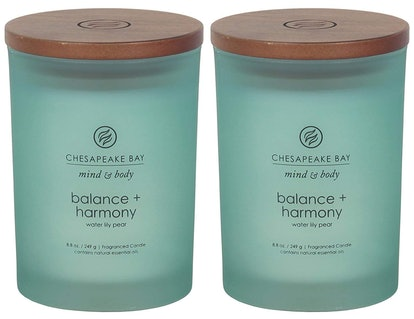 Chesapeake Bay Mind & Body Scented Candles (Set of 2)