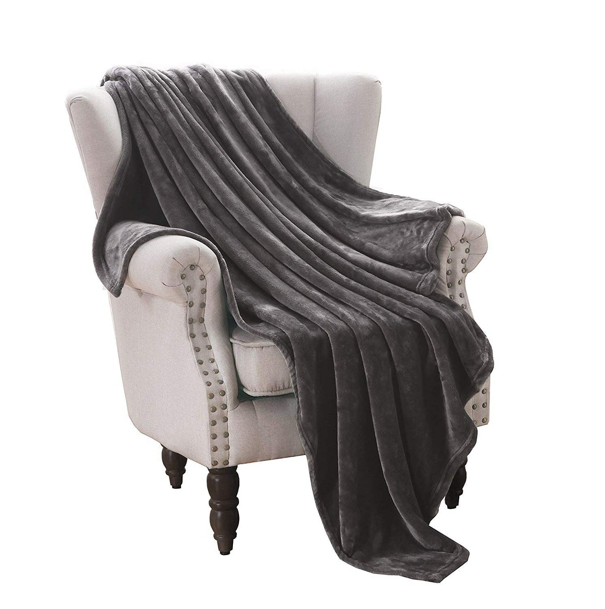 Exclusivo Mezcla Velvet Throw Blanket