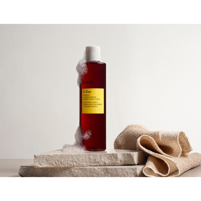 G. Day Ginger + Ashwagandha Energy Body Wash