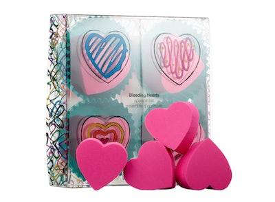 J Goldcrown For Sephora Collection: Bleeding Hearts Sponge Set