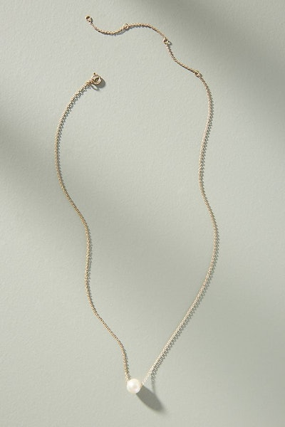 Anthropologie Dana Pearl Necklace