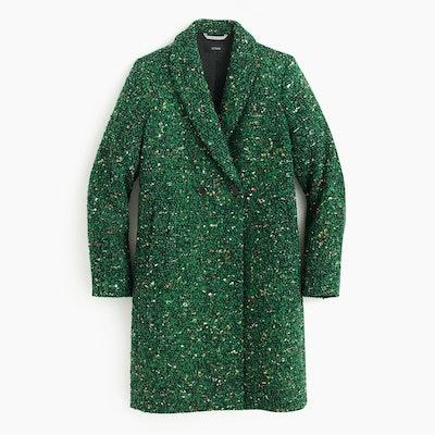 Daphne Topcoat in Italian Tweed