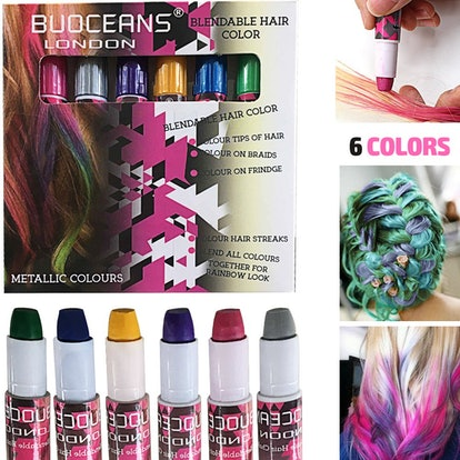 BUOCEANS Hair Chalk (Set of 6)