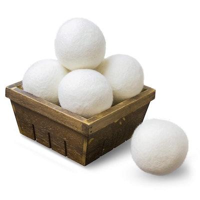 SnugPad Wool Dryer Balls (6 Balls)