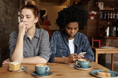 P-phubbing is when a partner ignores you in favor of looking at their phone, which can lead to a feeling of disconnect in your relationship.