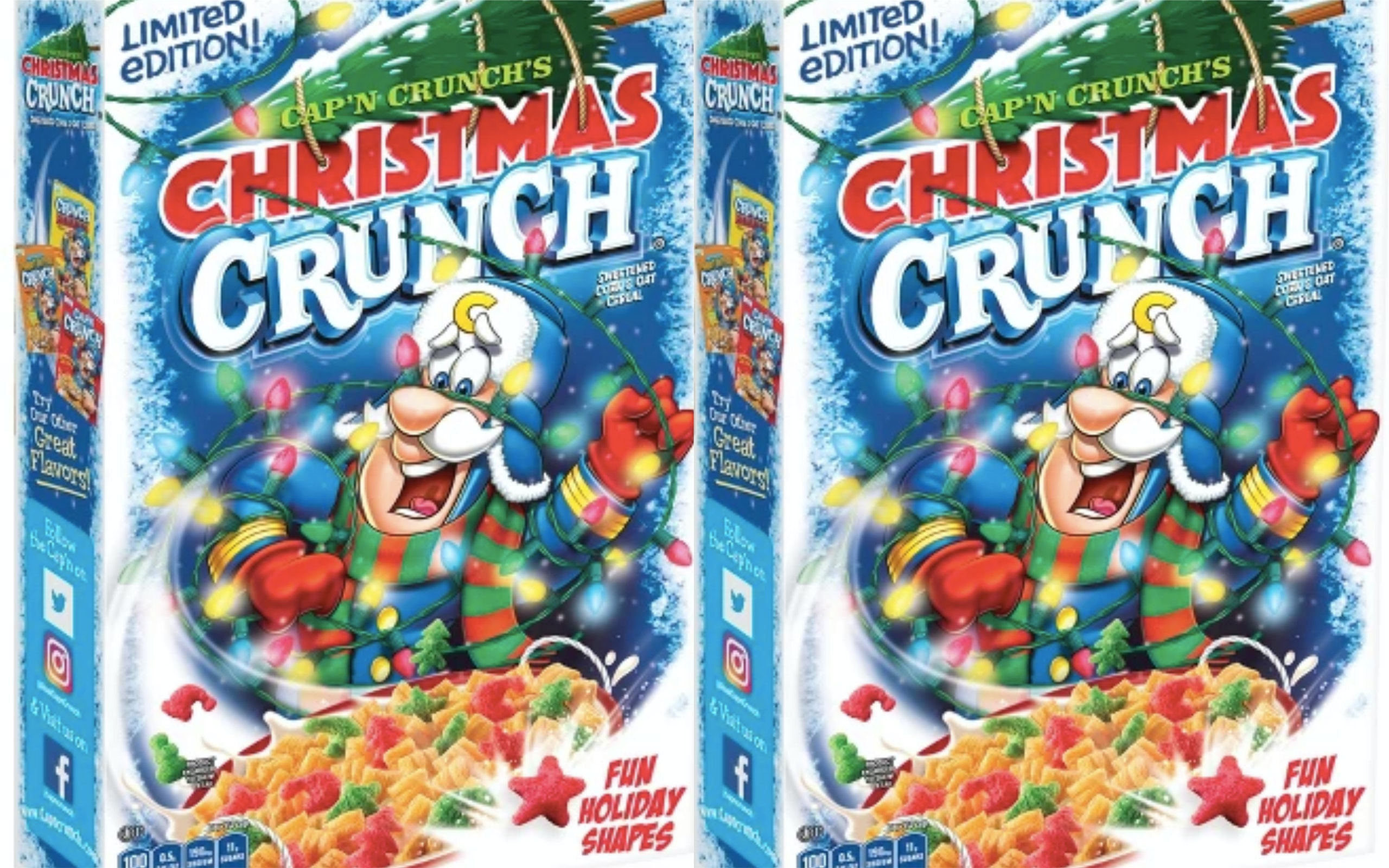 Christmas Crunch Cereal.Cap N Crunch S Christmas Crunch Is Available For A Limited