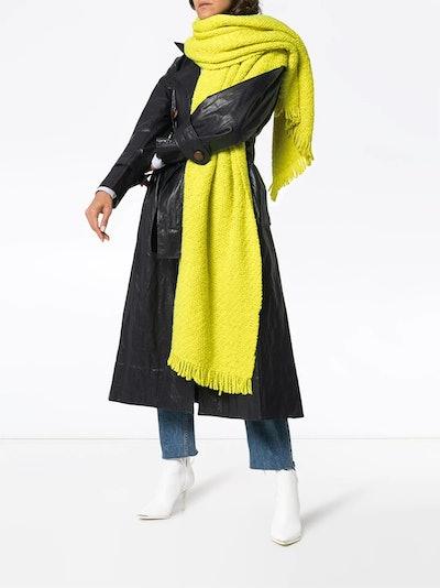 Oversized Wool Blanket Scarf