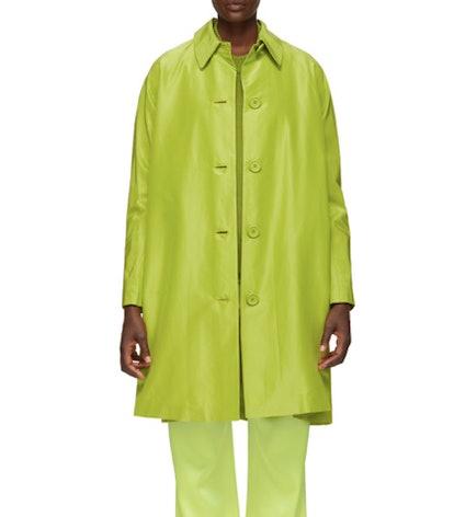 Green Elegant Coat