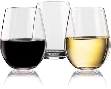 Vivocci 2-Piece Stemless Wine Glass Set