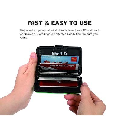 Shell-D RFID-Blocking Credit Card Protector