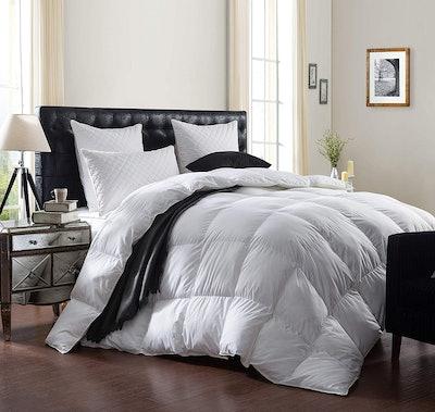 Egyptian Bedding Goose Down Comforter Duvet Insert