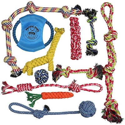 Pacific Pups Products Rope Toy Assortment Pack