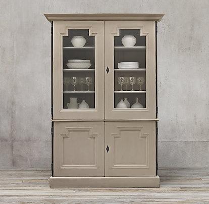 Montpellier Glass Double-Door Sideboard & Hutch
