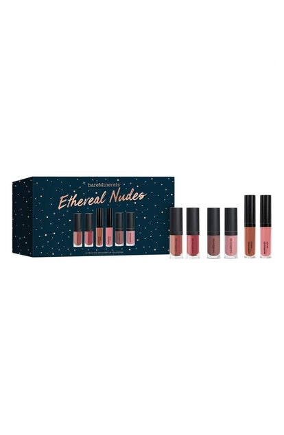 bareMinerals The Ethereal Nudes Lip Collection